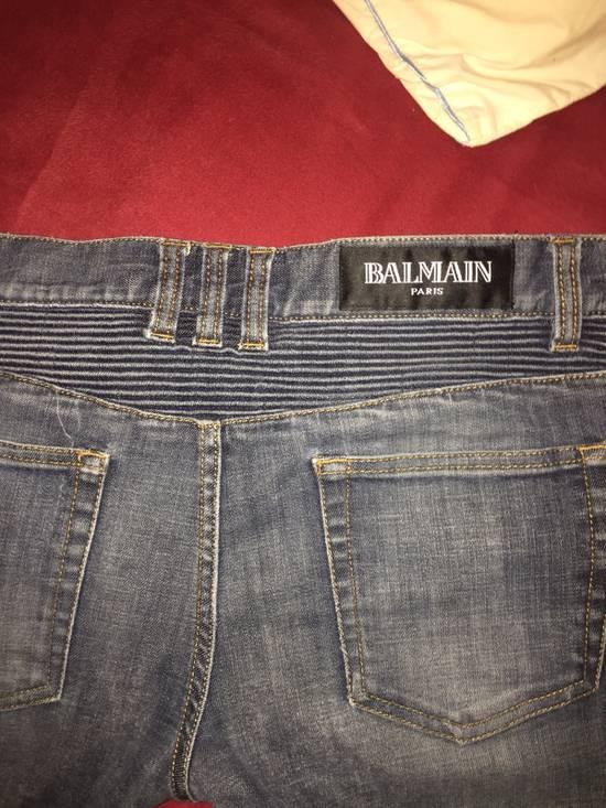 Balmain Biker Jeans Size US 31 - 2