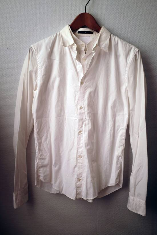 Julius Double-layer/collar White Shirt Size US S / EU 44-46 / 1