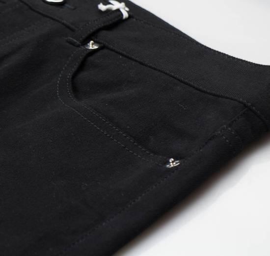Givenchy Black Cotton Blend Denim Jeans Pants Size US 30 / EU 46 - 1