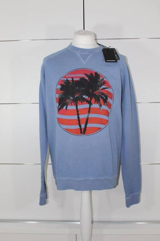 Givenchy Dsquared Palm Tree Print Crew Neck Jumper Blue Size XL BNWT $395 Size US XL / EU 56 / 4