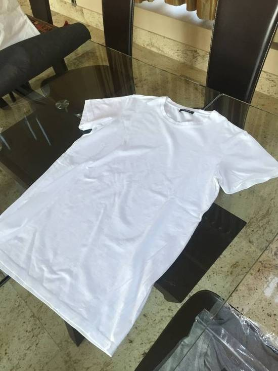 Balmain S & L SS Crew Neck Tee in White Light Distressed Size US S / EU 44-46 / 1 - 4