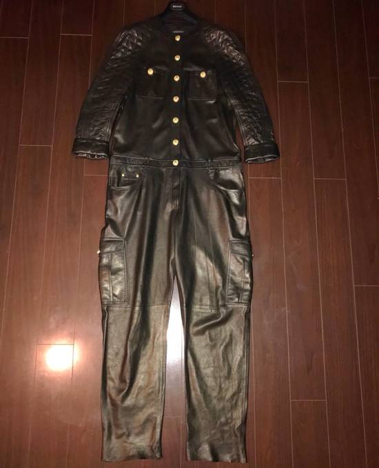 Balmain Balmain Spring 2014 Leather Jumpsuit Size US XL / EU 56 / 4 - 9