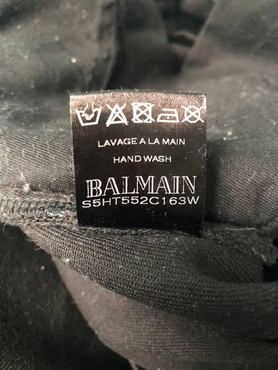 Balmain Black Waxed Bikerjeans Size US 31 - 7
