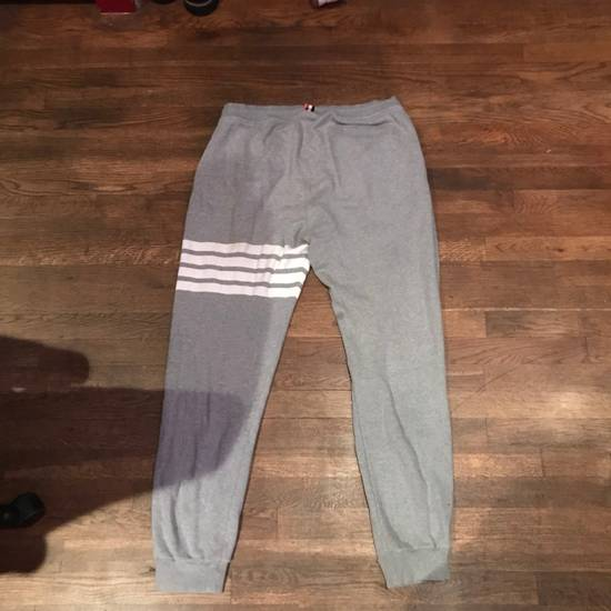 Thom Browne Thom Browne (Grey) Engineered 4-bar Sweatpants Size US 30 / EU 46 - 1