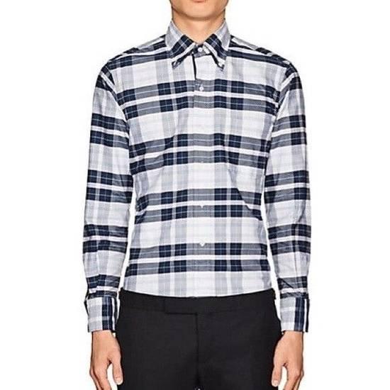 Thom Browne Thom Browne Madras Plaid Cotton Shirt Size US M / EU 48-50 / 2