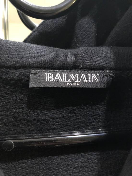 Balmain Black Zip Hoodie Size US M / EU 48-50 / 2 - 1