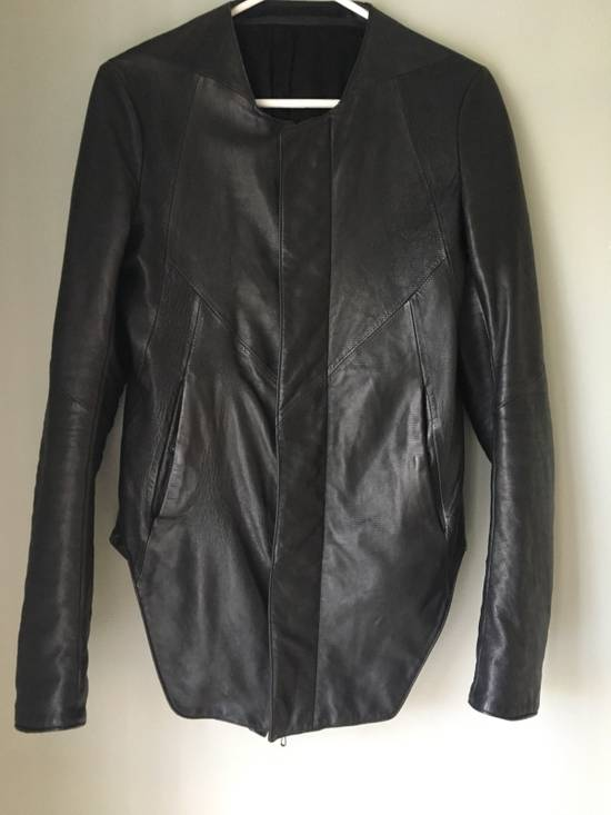 Julius Textured Lamb Leather Jacket Size US XS / EU 42 / 0 - 1