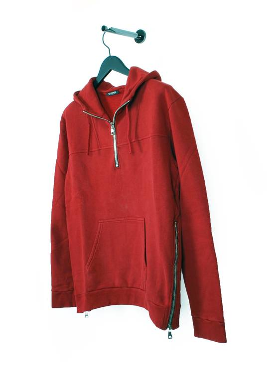 Balmain Original Balmain Red Men Hooded Top Sweatshirt Jumper in size L Size US L / EU 52-54 / 3 - 1