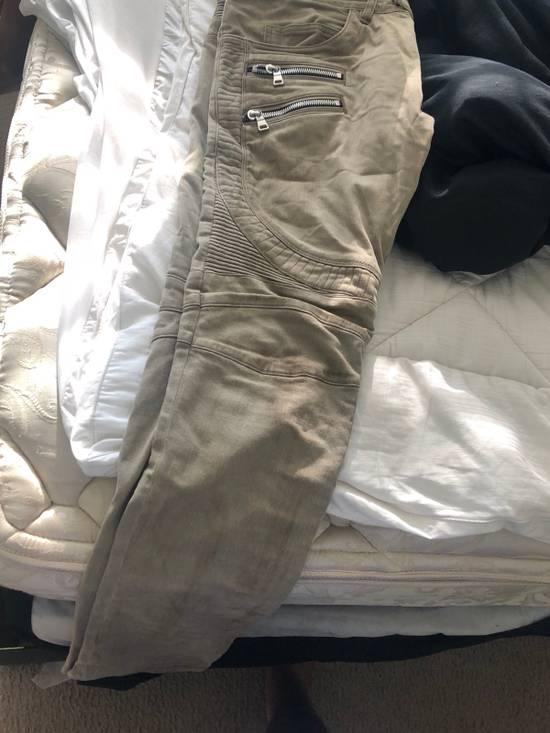 Balmain Balmain Khaki Jeans Size US 36 / EU 52 - 2
