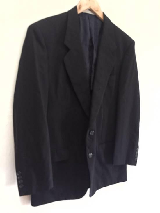 Givenchy Vintage Givenchy Monsieur Black Blazer Size 40L - 3