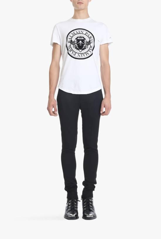Balmain SS18 Logo Print T-Shirt Size US S / EU 44-46 / 1 - 1