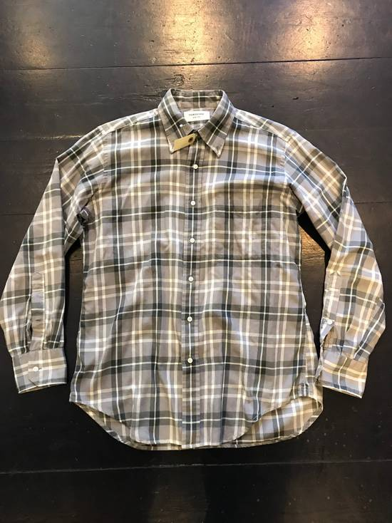 Thom Browne Grey plaid flannel shirt Size US L / EU 52-54 / 3 - 1