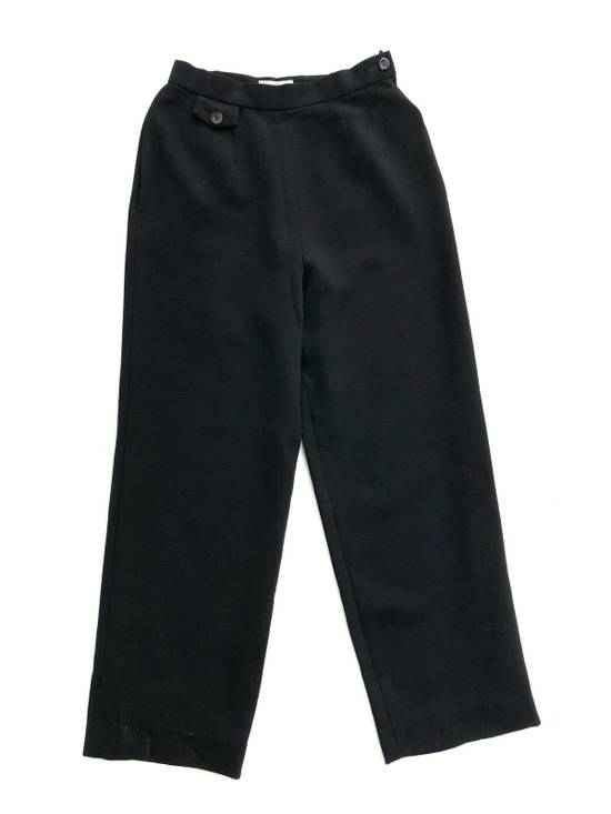 Givenchy Givency Life Black Formal Wool Trousers Pants Size US 27