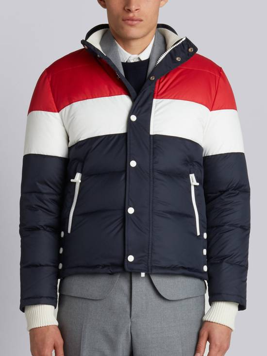 Thom Browne Three Panel Downfilled Funnel Collar Ski Jacket Size US M / EU 48-50 / 2 - 13