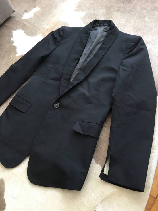 Julius Rare Japan made black fine wool tailored jacket in excellent condition Size 38R - 1