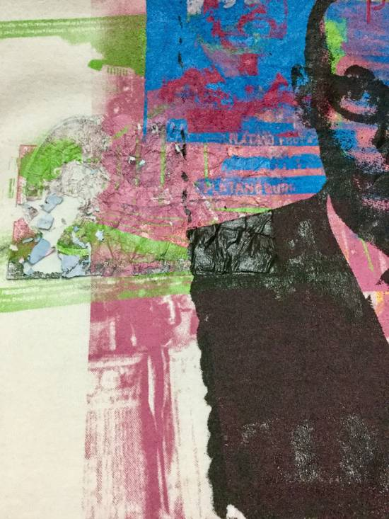 """Julius RaRE PiECeS!!!!! 2003 Spring And Summer Collection """" For Tomorrow"""" Printed Art Distressed T-Shirt Size US L / EU 52-54 / 3 - 5"""