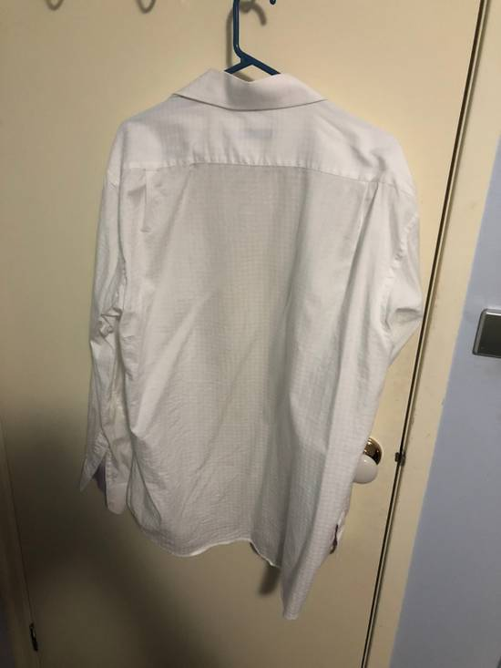 Balmain Classic Processed Cotton Shirt Size US XL / EU 56 / 4 - 6