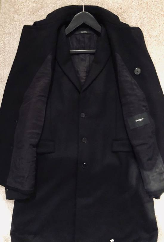 Givenchy FW12 Two Piece Black Wool Peacoat sz 48 double layer coat Riccardo Tisci Size US M / EU 48-50 / 2 - 3