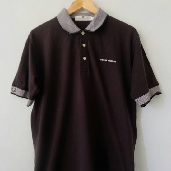 Balmain [LAST DROP] PIERRE BALMAIN Polo Shirt Rare!! Vintage Authentic Size US L / EU 52-54 / 3 - 1