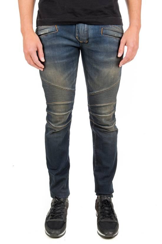 Balmain PRICED TO SELL!! Size 30 Blue Biker Jeans Balmain Size US 30 / EU 46