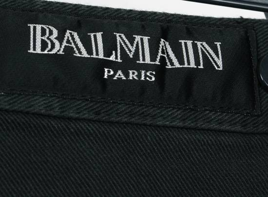 Balmain Original Balmain Paris Skinny Grey Men Biker Jeans in size 30 Size US 30 / EU 46 - 5