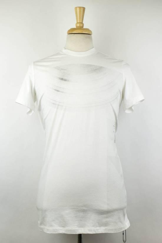 Julius 7 White Cotton Blend Short Sleeve Printed Crewneck T-Shirt 2/S Size US S / EU 44-46 / 1