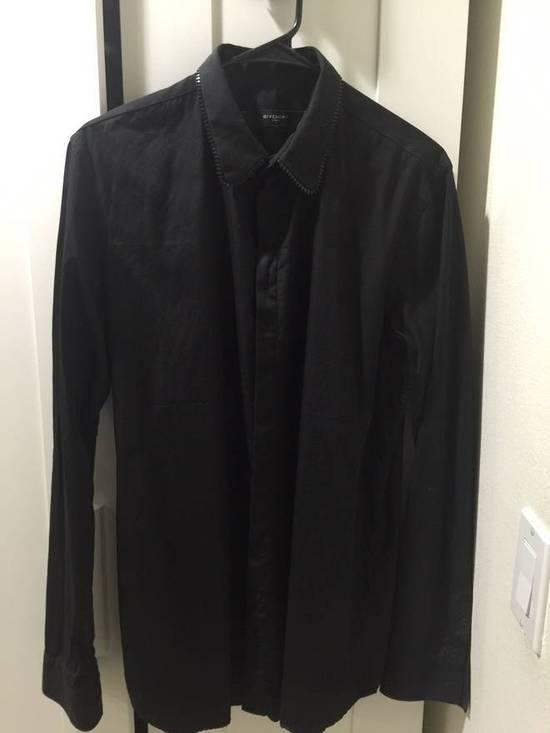 Givenchy Givenchy Zipper Collar Shirt Size US L / EU 52-54 / 3