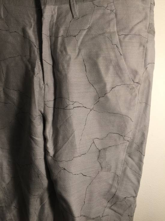 Julius MA JULIUS RUNWAY SAMPLE MARBLE PRINT TROUSERS VERY RARE Size US 28 / EU 44 - 1