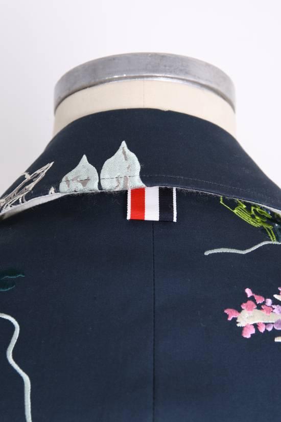 Thom Browne Japanese Garden Navy Coat Size US S / EU 44-46 / 1 - 7