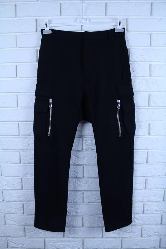 Balmain Cargo Biker Wool Pants Size US 29