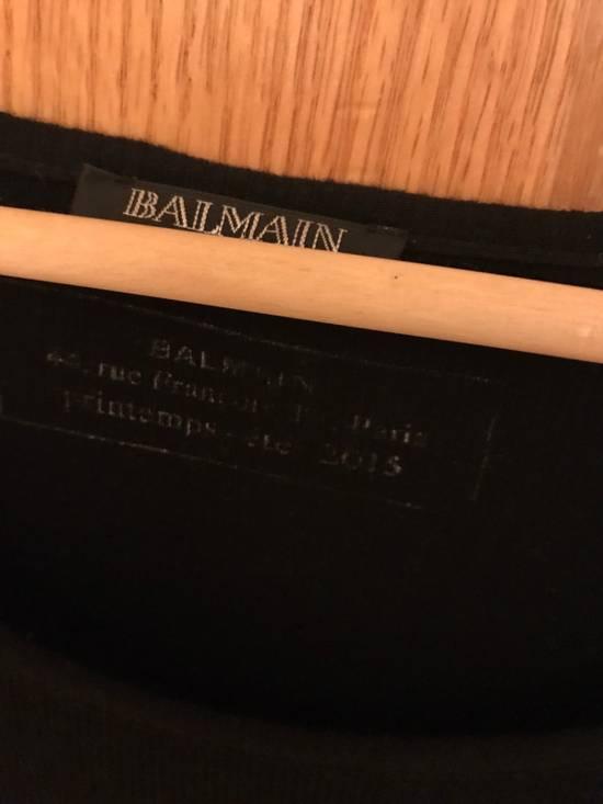 Balmain Long Sleeve Essential T (black) Size US M / EU 48-50 / 2 - 2