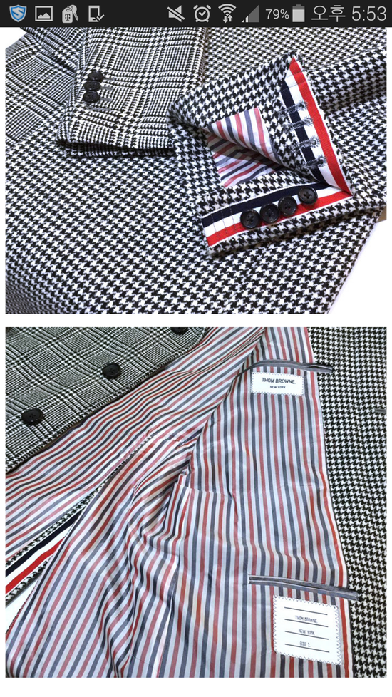 Thom Browne 15 fw funmix houndstooth coat Size US S / EU 44-46 / 1 - 3