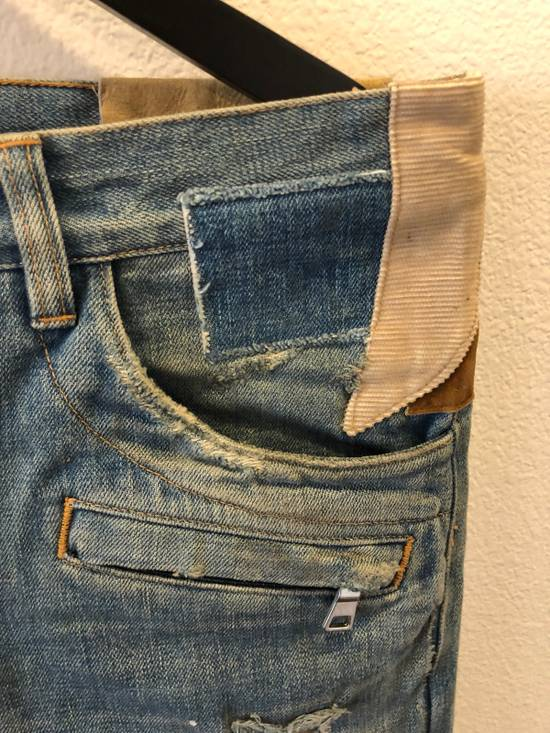 Balmain Patchwork Jeans Size US 30 / EU 46 - 7