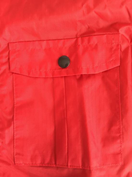 Thom Browne Red Hooded Rain Parka, NWT Size US L / EU 52-54 / 3 - 6