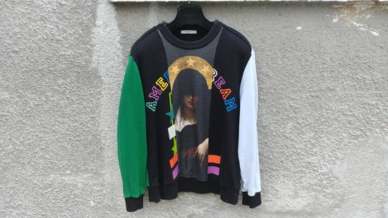 Givenchy $1375 Givenchy Colorblocked Madonna American Dream Rottweiler Sweatshirt size M Size US M / EU 48-50 / 2