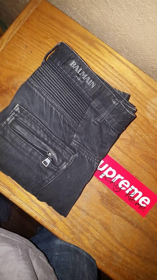 Balmain Black Distressed Balmain Denim Size US 30 / EU 46 - 2