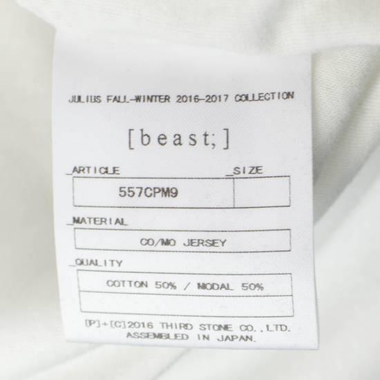 Julius 7 White Cotton Blend Short Sleeve Printed Crewneck T-Shirt 2/S Size US S / EU 44-46 / 1 - 6