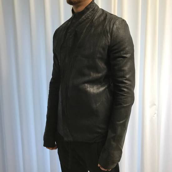 Julius black waxed jacket Size US M / EU 48-50 / 2 - 1