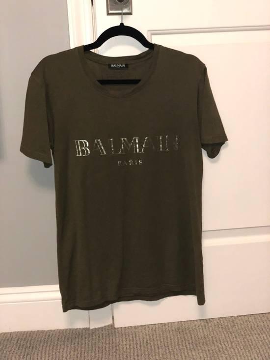 Balmain Balmain SS17 Army Logo T-Shirt Size US XS / EU 42 / 0 - 4