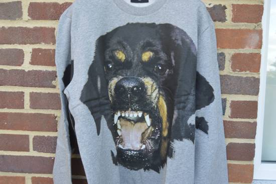 Givenchy Grey Rottweiler Print Sweater Size US L / EU 52-54 / 3 - 2