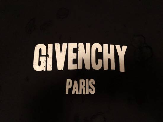 Givenchy Distressed Logo Print Hoodie Size US S / EU 44-46 / 1 - 4