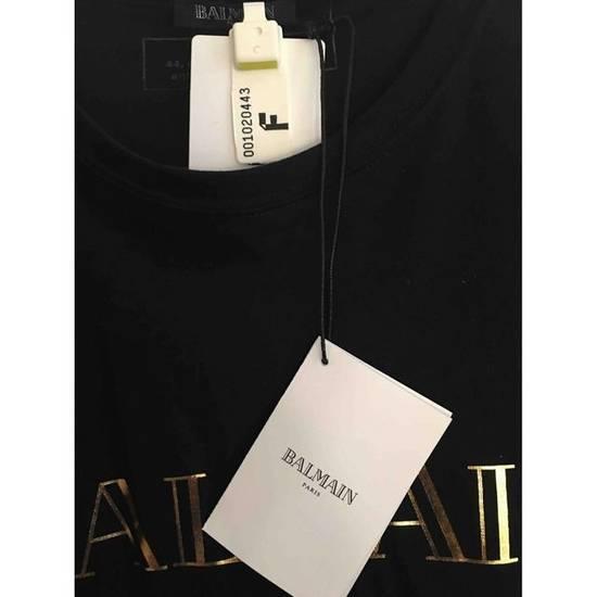 Balmain Balmain Gold/Black Tee Size US XL / EU 56 / 4 - 1
