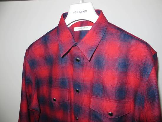 Givenchy Flannel check- shirt Size US L / EU 52-54 / 3 - 6