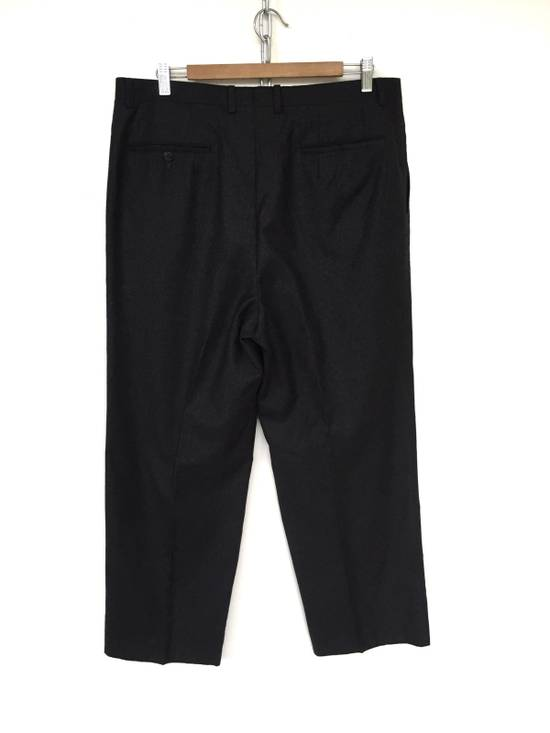 Givenchy FW10 Black Baggy Oversized Wool Trousers Pants Size US 36 / EU 52 - 3