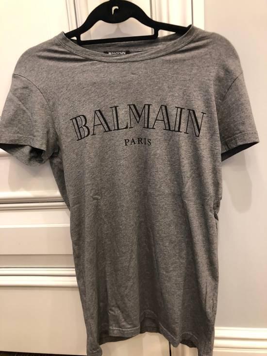 Balmain Balmain tee Grey logo Size US S / EU 44-46 / 1
