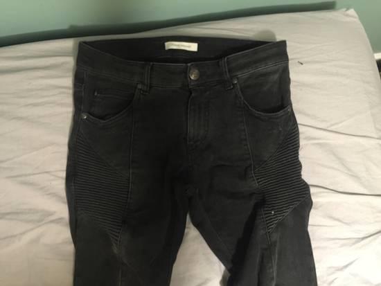 Balmain Biker Jeans Size US 29