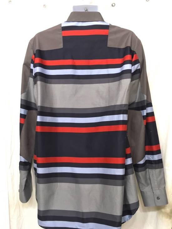 Givenchy Givenchy Paris Gray Horizontal Striped Button Shirt Size US L / EU 52-54 / 3 - 5