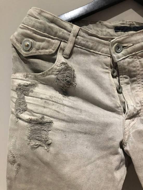 Julius Distressed Grey Jeans Size 1 Size US 28 / EU 44 - 1