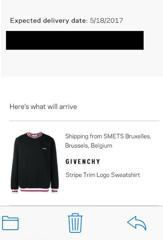 Givenchy Logo Crewneck Size US S / EU 44-46 / 1 - 11