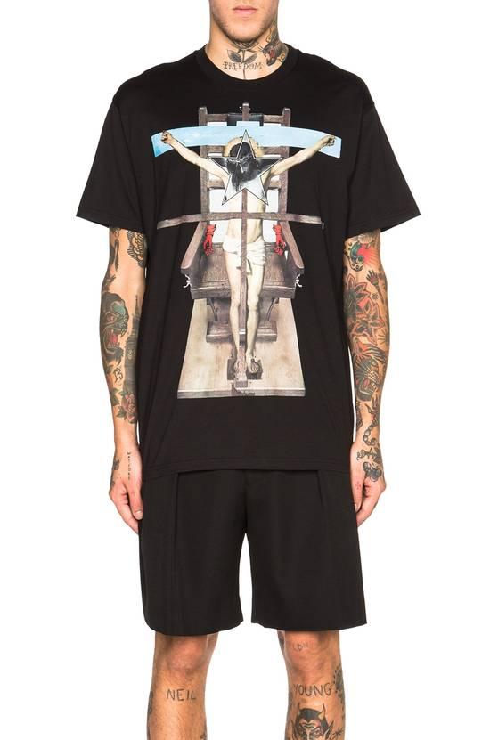 Givenchy Jesus Cross Print T-shirt Size US M / EU 48-50 / 2 - 2